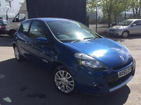 2010/60 RENAULT CLIO 1.5 DCI 3dr DYNAMIQUE TOMTOM # GENUINE LOW 43,000 MILES # CAT D