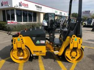 NEW SAKAI SW354 TANDEM ROLLER FOR SALE Kenwick Gosnells Area Preview