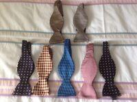Self-tie Silk Bow Tie Here are 7 Self tie bow ties