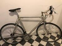 Vintage road bike bicycle