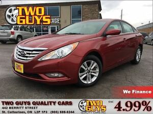2012 Hyundai Sonata GLS SUNROOF HTD SEATS ALLOYS