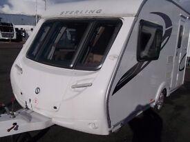 2 Berth Sterling Europa 390/2 Caravan