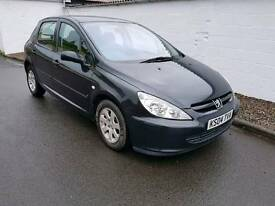 Peugeot 307 S 2004 5 door years mot
