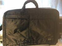 Male business bag by Japanese maker (Porter)
