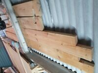 Joblot Pine wood and other hardwood and tools