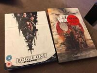 Star Wars Rogue One Blue Ray unopened