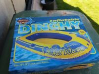 Large inflatable dinghy. New