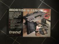 Trend mortise and tenon jig.