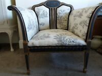 Victorian Louis style armchair