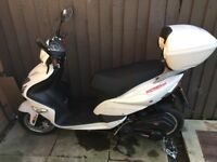 Brand new scooter moped never been used bought but didn't like when sat cbt