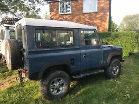 1993 Land Rover Defender GLAVINISED csw