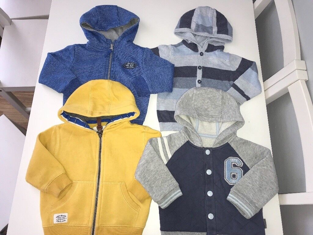 Bundle Of Baby Boy Clothes Size 9 12 Months In Knightswood