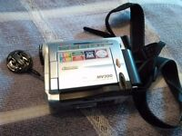 Cannon MV300 digital video camcorder inc accessories and carry case