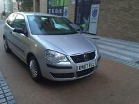 2007 VW POLO 1.2 PETROL MANUAL, MILEAGE 63000 ONLY