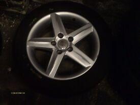 "SEAT LEON Mk2 2005-2012 16"" 5 SPOKE ALLOY WHEEL 5P0 601 025 K"