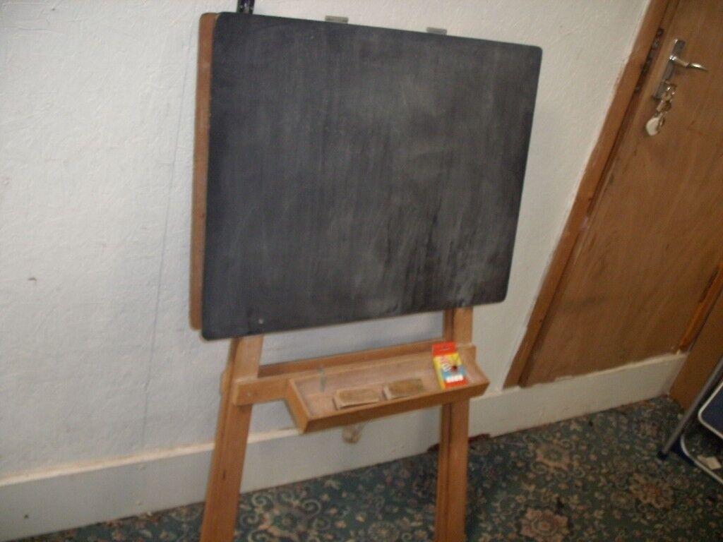 Black Board with Chalk ID 702/5/18