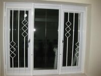 UPVC Window and Fancy Safety Window Bars Grills - £50 Each