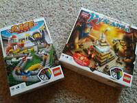Lego Ramses Pyramid and Race 3000 games