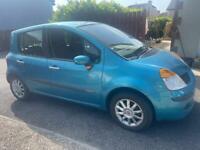 2005 Renault modus 1.2 petrol full year mot