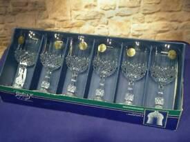 BNIB Lead Crystal Glasses