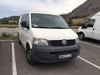 VW TRANSPORTER 6 SEATS LHD IN SPAIN