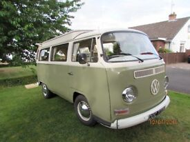Volkswagon Camper Type 2 ,1972 Tax Except 1600cc Air Cooled, Excellent Condition, must be seen