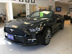 2015 Ford Mustang Ecoboost Premium  * Only 24K  Navigation  Heat