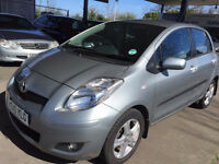 TOYOTA YARIS 1.4 TR D-4D 5d 89 BHP FULL YEAR MOT £20 ROAD TAX, SERVICE RECORD
