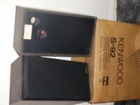 Kenwood Black S92 Speakers used but in excellent condition come in the original box