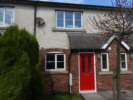 Furnished 2 bed modern house in quiet location with Patio and parking