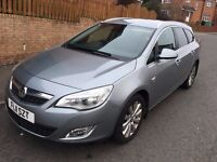 VAUXHALL ASTRA 1.9 SE CDTI ** DIESEL ESTATE ** 11 PLATE ** 80,000 MILES ** HISTORY