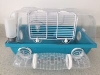 Great condition hamster cage, wheel, snuggle bag, toys etc bought for over £90 selling for £30
