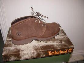 Timberland Ladies Tan Chukka Boots