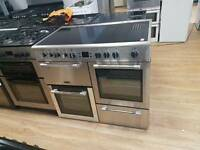Leisure cookmaster Double oven electric Range cooker.100cm width