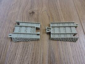 Tomy Trackmaster Thomas The Tank Engine Train - Blue to brown track converter/adapter