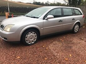 CHEAP ESTATE VAUXHALL VECTRA 2.2LS TOW BAR FULL YEAR MOT PART/EXCHANGE WELLCOME