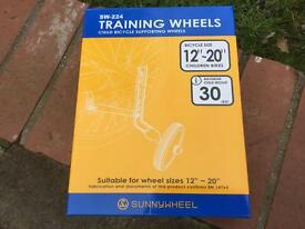 Child's Bicycle Training Wheels, Brand New. Will sell separately or in job lots of 10 if required
