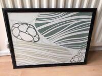 "Home Office Wall Print Decor Art Picture 22.5"" (58cm) x17.5"" (44cm) Black Framed"