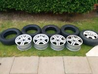 Volkwagen golf Alloy Wheels And Tyres