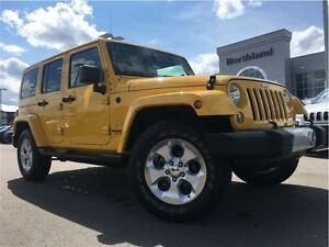 2015 Jeep WRANGLER UNLIMITED Sahara 3.6L V6 Pentastar
