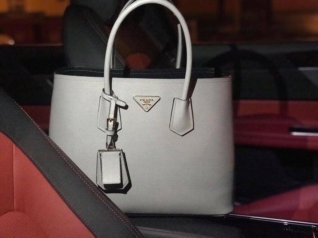 098ff7ec9f Real authentic grey Ladies Prada bag