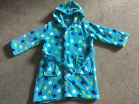 Immaculate Debenhams dressing gown. Age 5-6