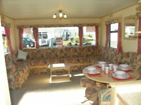 Great Value Used Sited Static ABI Caravan For Sale, Site Fees Included