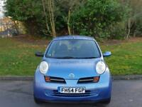 NISSAN MICRA AUTOMATIC 1.2L 2005 5DOOR 9SERVICES MOT TILL16/8/2018 HPI CLEAR EXCELLENT CONDITION