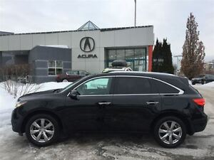 2014 Acura MDX ELITE DVD NAVI ACURA CERTIFIED PROG 7 YEARS 130K