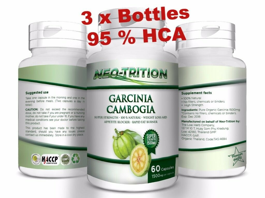 Daily GARCINIA CAMBOGIA HCA 95% Weight Loss Diet