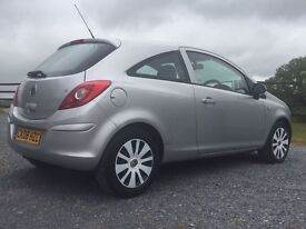 Vauxhall Corsa 1.2 club with only 35,000 on the clock