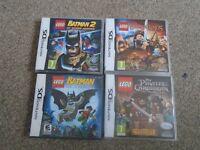4 x Nintendo DS Games