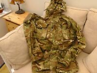 British Army combat smock in MTP. Latest smock.