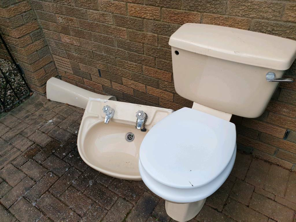 Strange Free Toilet Basin And Pedestal In Coatbridge North Caraccident5 Cool Chair Designs And Ideas Caraccident5Info